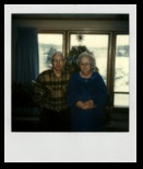 Ma and Pa Hillestad in their home