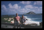 Dennis and Helton in 1998 Hawaii