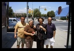 Marco's Mother and Janine Lucas Visit New York - Helton, Norma, Janine, Marcos