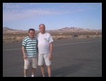 Dennis Helton and Mucio on the Desert 2001