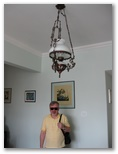 The Chandelier at Mucio's Apartment