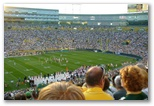 Football crowds in Green Bay