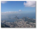 View of Corcovado of Rio