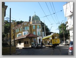 Street car and Victorian Home in Brazil