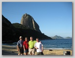 Tourists at Sugar Loaf