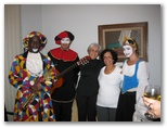 Vicentina and her messengers for her 80th birthday