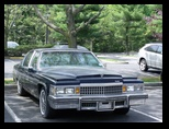 Cadillac Fleetwood from the front