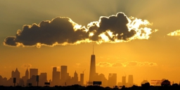 Sunset with the Freedom Tower