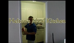 Video of Helton in the new kitchen