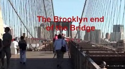 Brooklyn Bridge Hike Video